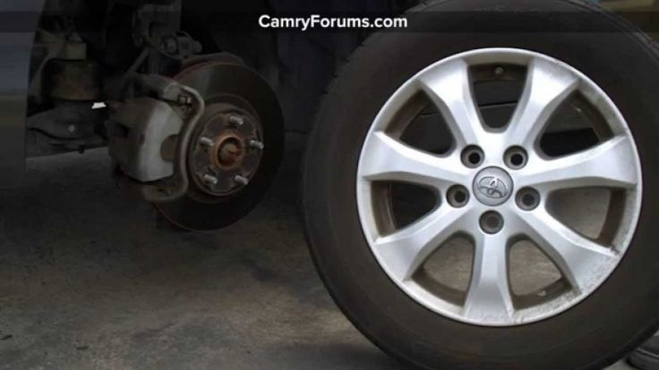 1996 Toyota Camry Tire Size