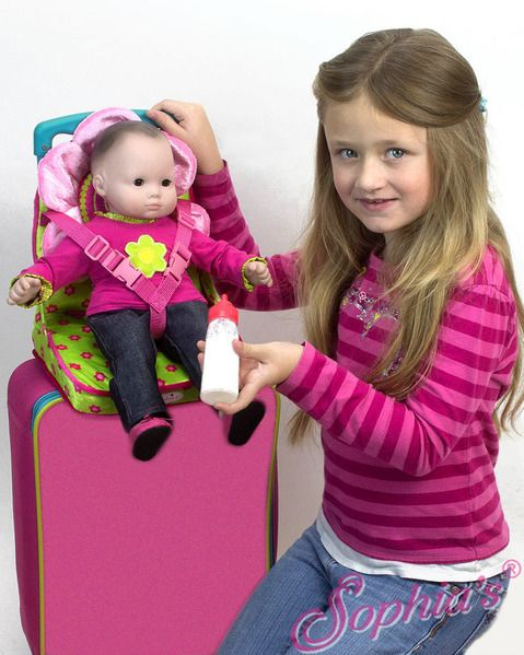 Sophias - Folding Portable Seat for Dolls and plush