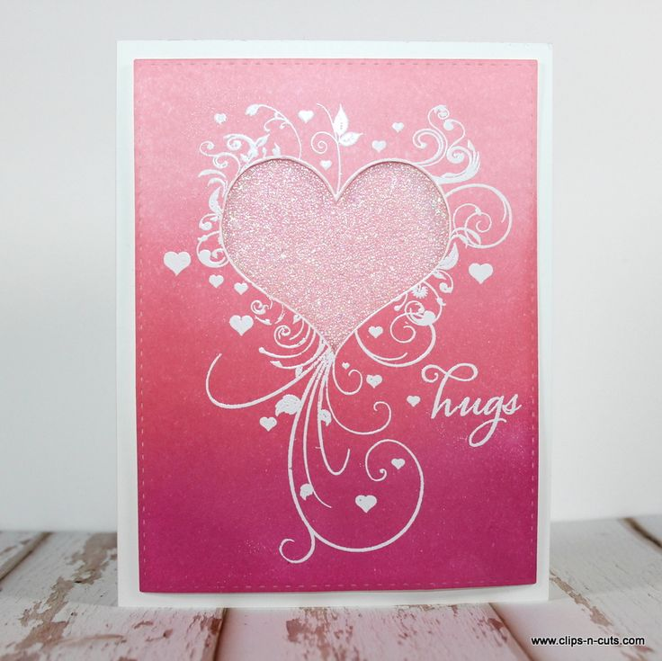 322 best Cards—Valentine\'s Day images on Pinterest | Heart cards ...
