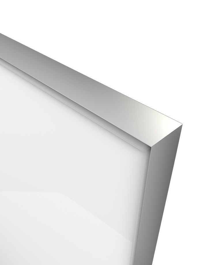 Glass Door Z-18,aluminum frame C-0, glass color Ral 9003 The Z-18 design belongs to the group of new models of glass doors. Made from an anodized aluminum frame where a colored glass is welded externally and is elegantly sharpened. Designed in parallel with the Z-21 model creating an innovative, entirely minimalistic combination. Its look , gives the compositions used, the image of an entirely glass made construction without any optical influence by other materials.