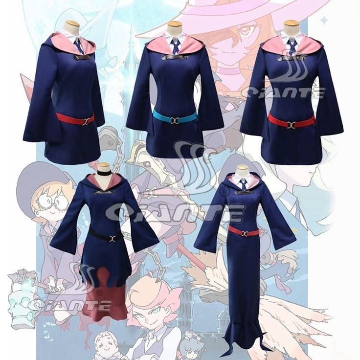 DIANA CAVENDISH Little Witch Academia Cosplay Costume Sucy Ursula Diana Lotte Atsuko Fancy Suit  | eBay