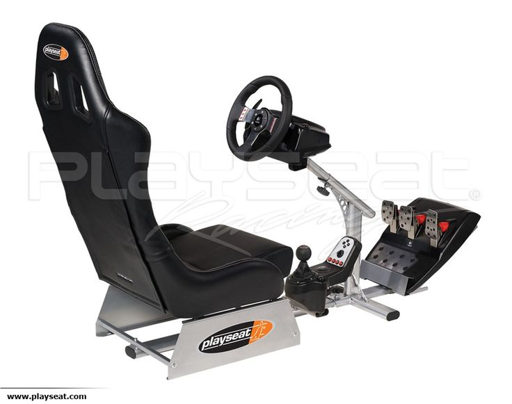 Racing Seat Playseat Evolution Black + Logitech G27 - Special Offer