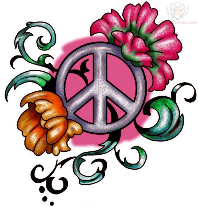 35 Best Peace Tattoos Images On Pinterest: The 25+ Best Peace Sign Tattoos Ideas On Pinterest