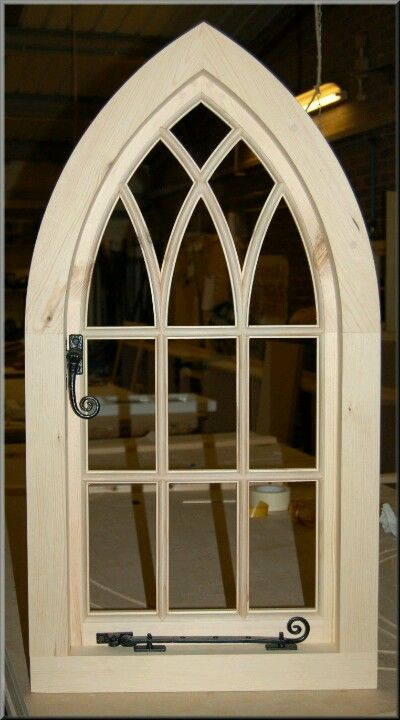 gothic arched traditional window new house pinterest. Black Bedroom Furniture Sets. Home Design Ideas