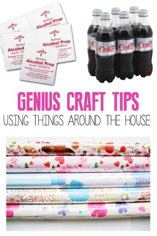 Genius Craft Tips Using Things Around the House | eBay