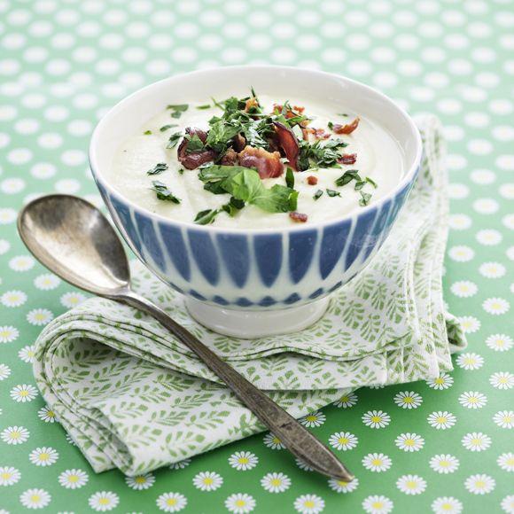 Recept på Potatissoppa med persilja och bacon från - Hemmets Journal