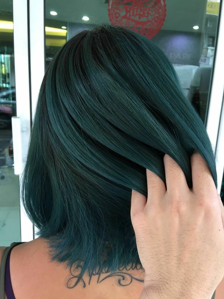 Balayage Green B 33 I Love Green Blue And Shades In Between I