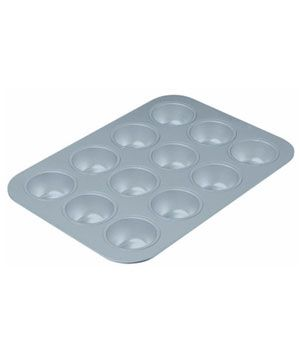 Best Cupcake and Muffin Pan Chicago Metallic Commercial II 12-Cup This heavy-duty (but surprisingly lightweight) staple has an industrial-gr...