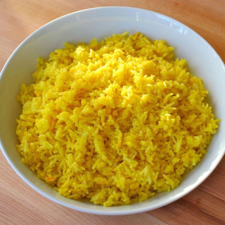 Rice Cooker Saffron Rice Recipe | Just A Pinch Recipes