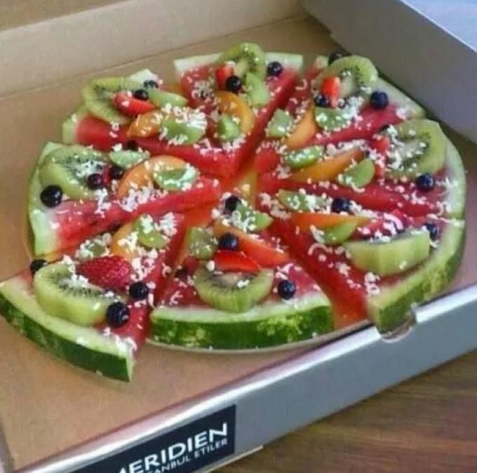 Sehe dir das Foto von Pusteblume mit dem Titel Früchtepizza für einen Kinderge…