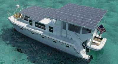 Not the Gore's solar houseboat, but shows the potential.