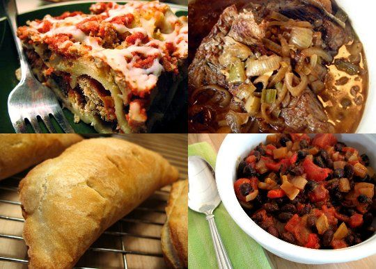 17 Freezer-Friendly Recipes: soups, sauces, meat, and main dishes