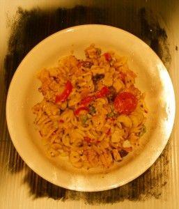 Tuscan+Capsicum+&+Pesto+Chicken+Pasta