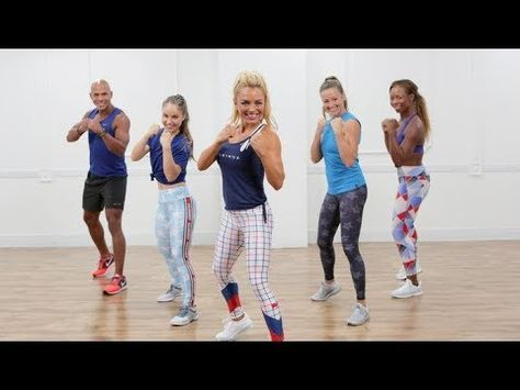 Burn 500 Calories in a 45-Minute Boxing Workout - YouTube