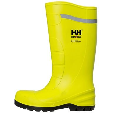 These NEW Helly Hansen 78307 Vollen PU Boot's will of course keep your feet dry, but they also feature textile lining for comfort and composite nail penetration protection.