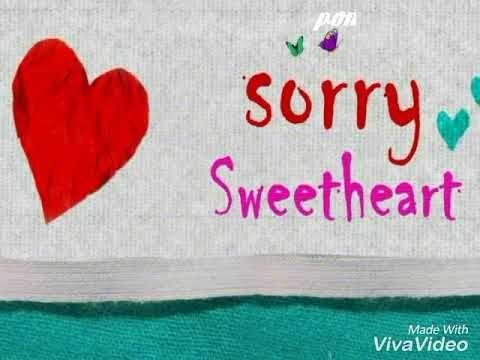 Apologies Sorry Whatsapp Status Youtube Status Videos