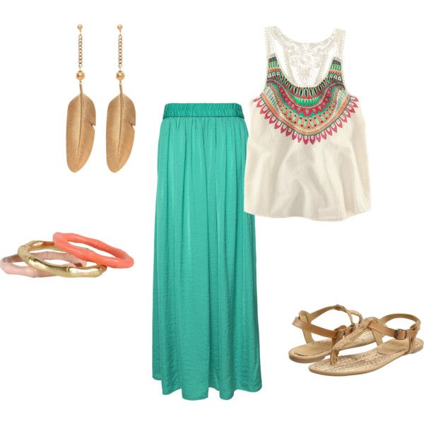 summer, created by annied84 on Polyvore