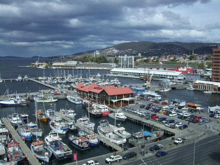 Hobart Tasmania. Constitution Dock