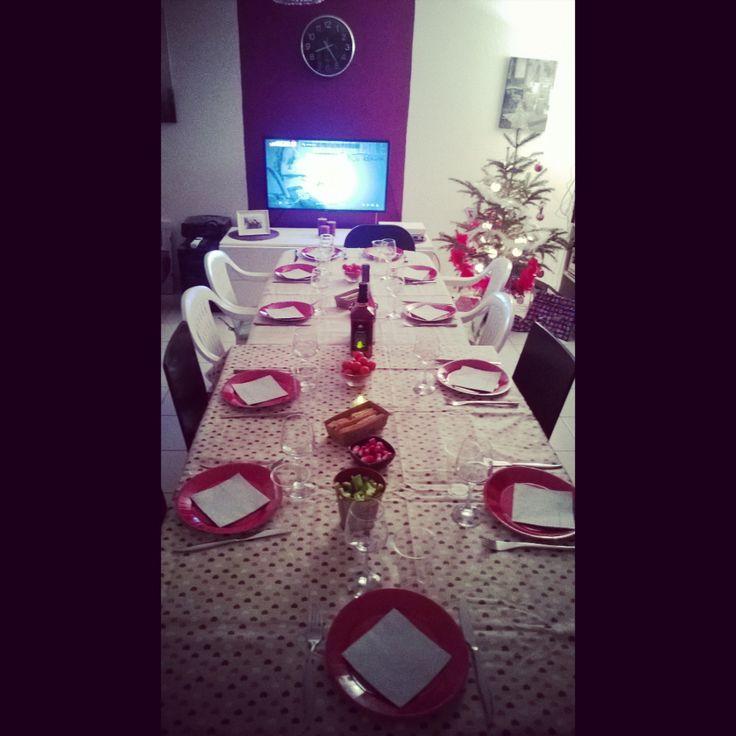 1er Noël entre copains à la maison #christmas#friends#life