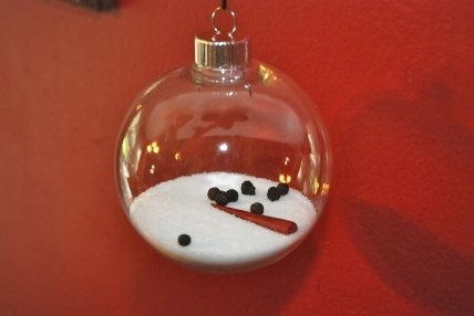 The Melted Snowman Ornament This is too cute!!