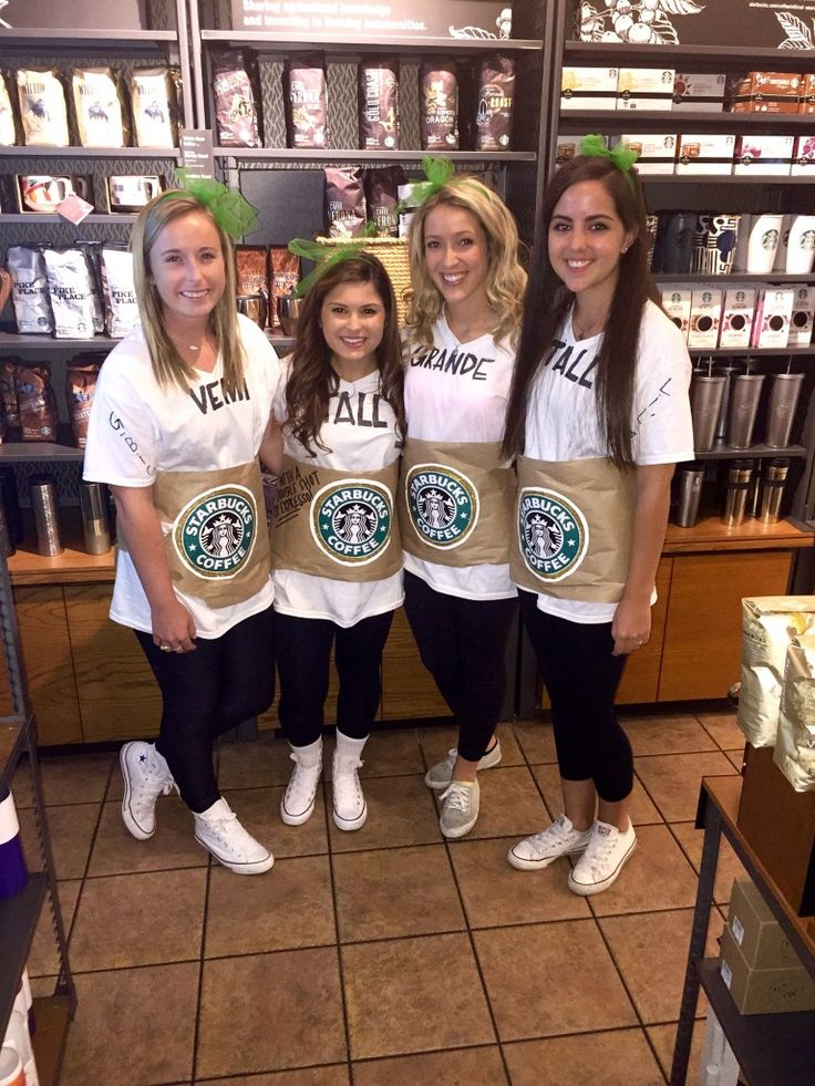 going to starbucks to take your biglittle reveal pics in your starbucks costume - Wish Halloween Costumes