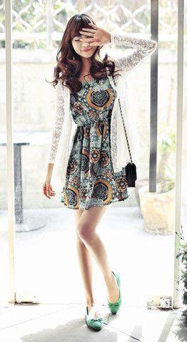Vestes et manteaux > Veste en dentelle blanche - Mode japonaise | Mikatani : the asian way of life