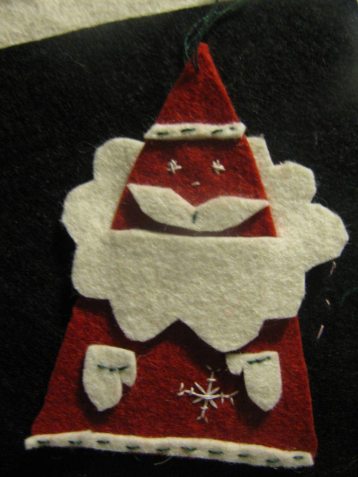 Filc Mikulás/Felt Santa