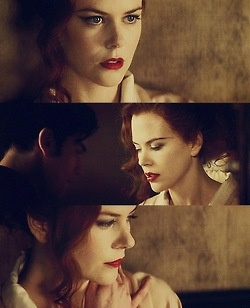 Satine (Nicole Kidman) in Moulin Rouge! movie