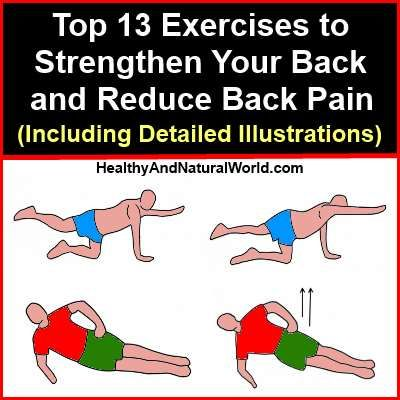 Top 13 Exercises to Strengthen Your Back and Reduce Back Pain