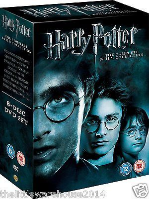 Harry #potter 1-8 complete 8 film #collection dvd box set #brand new & sealed uk,  View more on the LINK: http://www.zeppy.io/product/gb/2/112272335426/