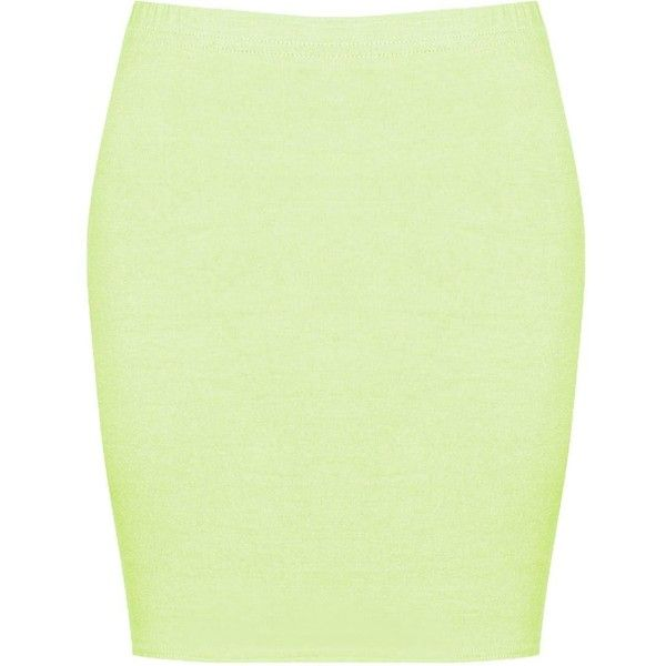 Boohoo Maisy Basic Bodycon Mini Skirt | Boohoo ($6) ❤ liked on Polyvore featuring skirts, mini skirts, bodycon mini skirt, short maxi skirt, green midi skirt, green pleated mini skirt and pleated midi skirt