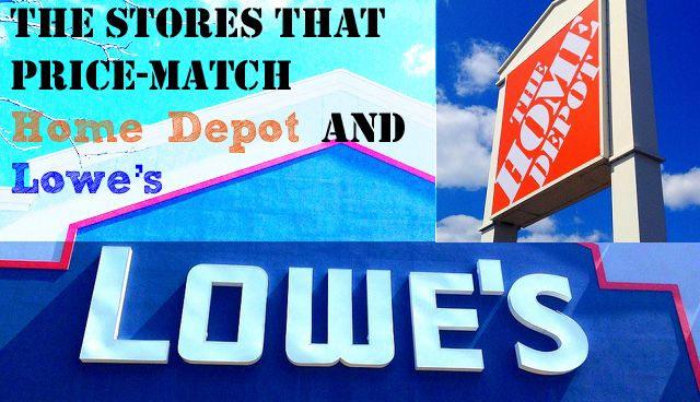 All The Hardware Stores That Price-Match Home Depot and Lowes