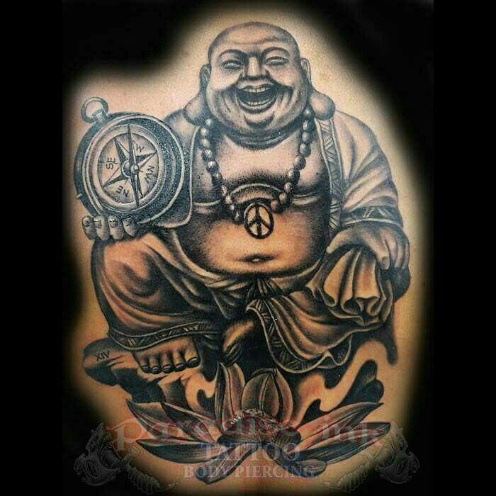 157 best paradise ink tattoo bali images on pinterest for Happy buddha tattoo