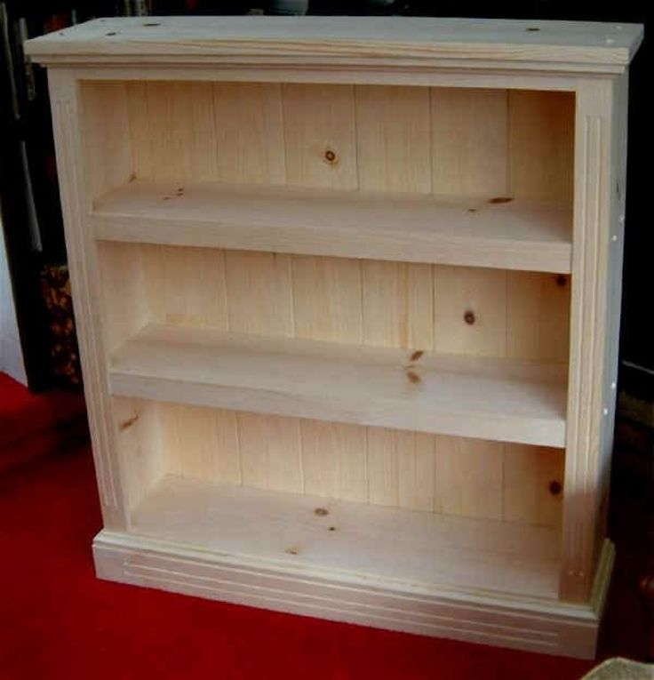 free bookcase plans woodworking