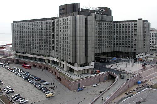 Pribaltiyskaya Hotel in St. Petersburg