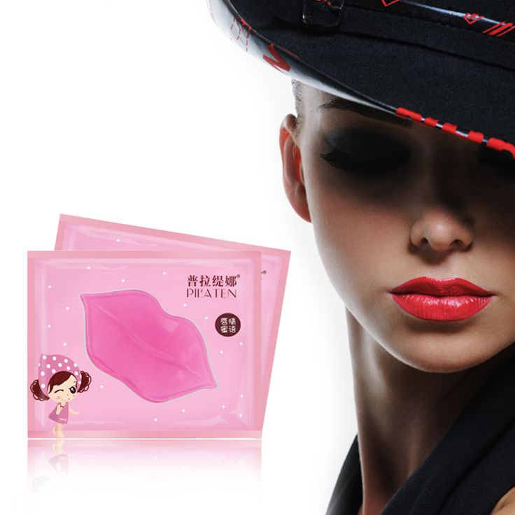 20PCS Pink Lip Care Crystal Collagen Lip Mask Pads Moisturizing Repair Lip Skin Face Care Gel Anti Ageing Wrinkle Exfoliating|c7273714-415b-41ef-86ef-aceeff5f062b|Lip Care