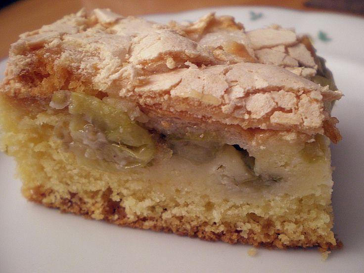 Stachelbeerkuchen mit Baiser, ein sehr schönes Rezept aus der Kategorie Kuchen. Bewertungen: 14. Durchschnitt: Ø 4,2.