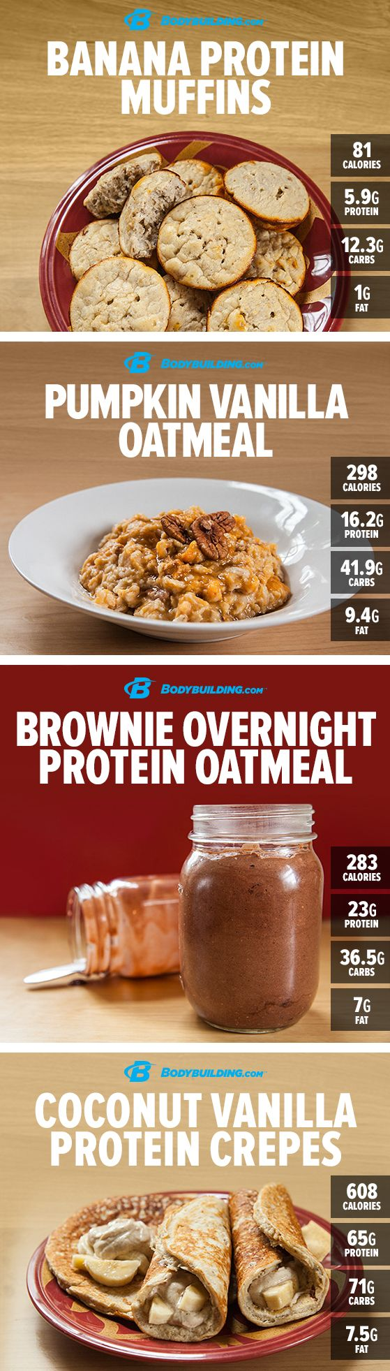 8 High-Protein Breakfasts You Must Try! Throw away your alarm clock and toss out your bland morning shake. These 8 protein-rich breakfast recipes are so good they'll be enough to get you up and going!