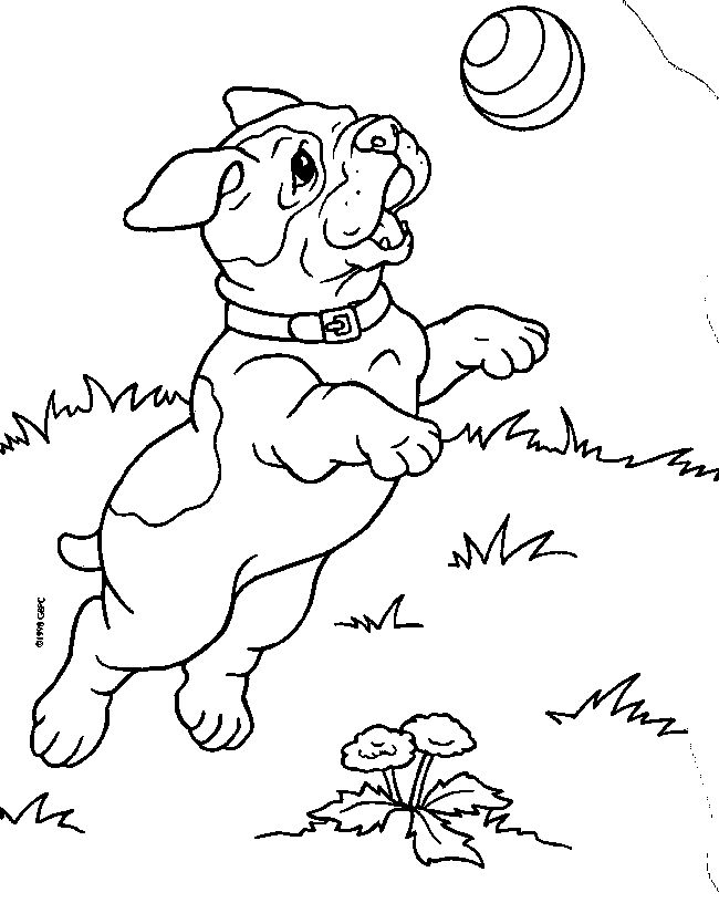 Puppies Coloring Page 2 Is A Coloring Page From Puppies Coloring Book.Let  Your Children Express Their Imagination When They Color The Puppies  Coloring Page