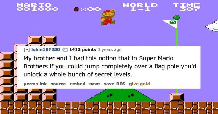 14 Stupid Video Game Rumors We Believed as Kids