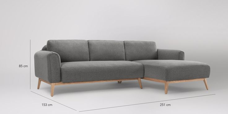 Frederick  Right-hand Corner Sofa | Swoon Editions