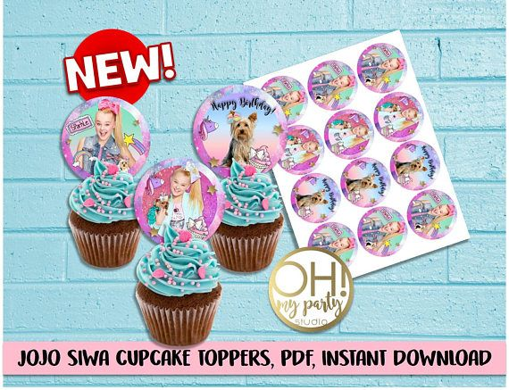 Quatang Gallery- Jojo Siwa Jojo Siwa Party Jojo Siwa Birthday Jojo Siwa Cupcake Toppers Jojo Siwa Party Supplies Jojo Siwa Birthday Birthday Thank You Cards Jojo Siwa Bows