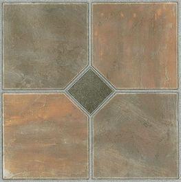 Each Peel U0026 Stick Floor Tile Is One Square Foot. Self Adhesive Floor  TilesVinyl ...