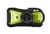Pentax Optio WG-1 14 MP Waterproof Digital Camera with GPS and 5xOptical Zoom –  Yellow/Green
