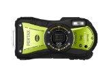 Pentax Optio WG-1 14 MP Waterproof Digital Camera with GPS and 5xOptical Zoom –  Yellow/Green