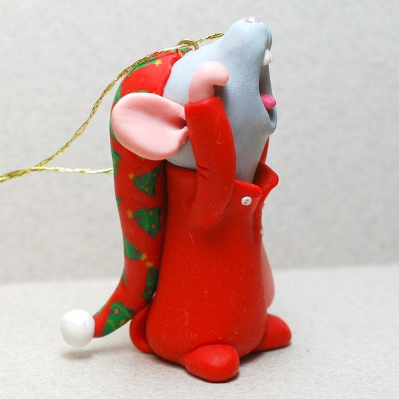 how cute is this mouse ! such talent from this Etsy artist