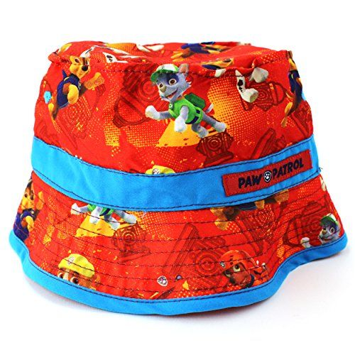 Paw Patrol Toddler Boys Red Bucket Hat Nick Jr http://www.amazon.com/dp/B00SC0ND72/ref=cm_sw_r_pi_dp_HMsYub12A3Q6Q