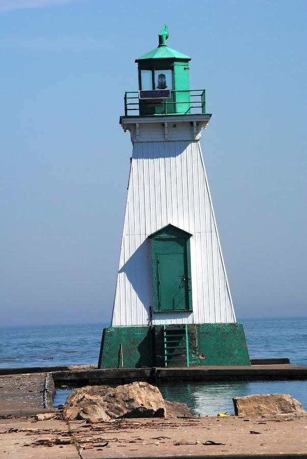 ✯ Port Dalhousie Range LightsSt. Catharines Ontario Canada 43.211077, -79.263237