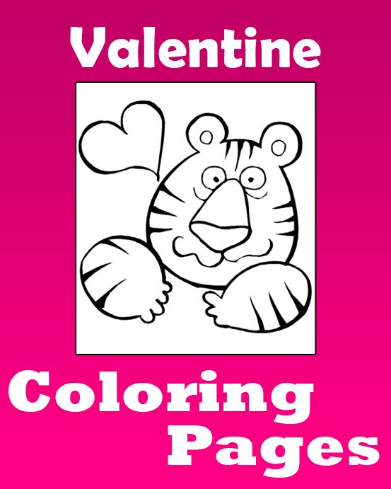 48 best 5 - Valentine - Coloring Pages images on Pinterest ...