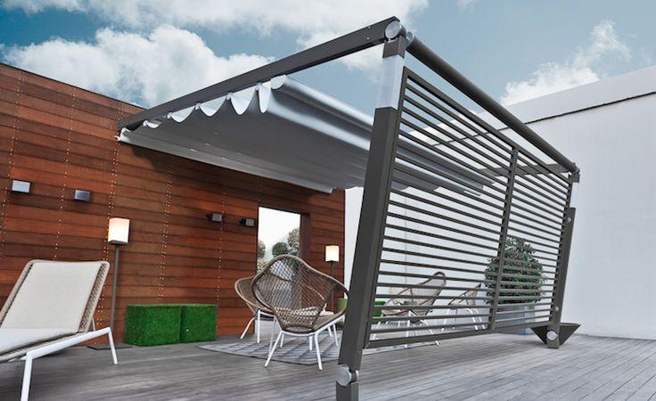 protection solaire de design moderne- la pargola orientable